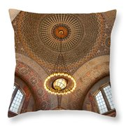 Los Angeles Central Library. Throw Pillow