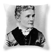 Lucretia Garfield (1832-1918) Throw Pillow