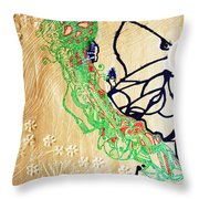 Mama Dinka - South Sudan Throw Pillow
