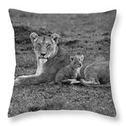 Mama's Little Baby Throw Pillow