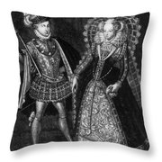 Mary, Queen Of Scots (1542-1587) Throw Pillow