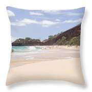 Maui Throw Pillow