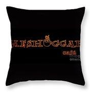 Meshuggah Cafe' Throw Pillow