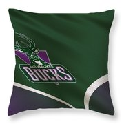 Milwaukee Bucks Uniform Throw Pillow