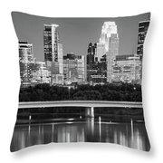 Minneapolis Mn Throw Pillow