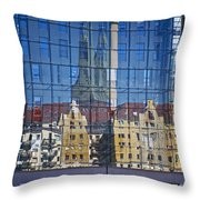 Mirror On The Wall Throw Pillow