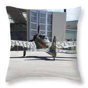 Mitsubishi A6m3-22 Reisen Zero Throw Pillow