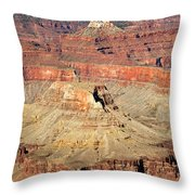 Mohave Point Grand Canyon National Park Throw Pillow