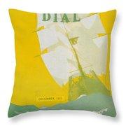 Morse Dry Dock Dial Throw Pillow
