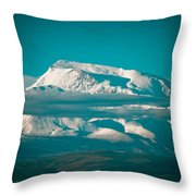Mount Gurla Mandhata Throw Pillow