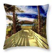 Nature Preserve Throw Pillow