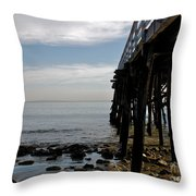 New Photographic Art Print For Sale Paradise Cove Throw Pillow