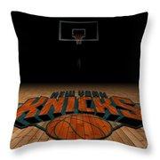 New York Knicks Throw Pillow