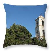 Ojai Post Office Tower Throw Pillow