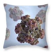Papillomavirus Throw Pillow