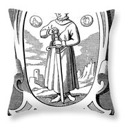 Paracelsus (1493-1541) Throw Pillow