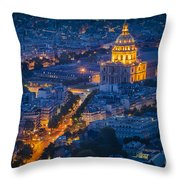Paris Overhead Throw Pillow