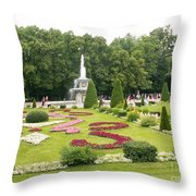 Park In Petergof Throw Pillow