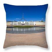 Parliament House Australia Throw Pillow