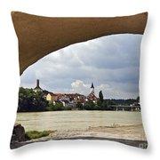 Passau Germany Throw Pillow