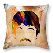 Paul Mccartney Collection Throw Pillow