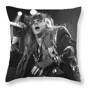 Poison - Brett Michaels Throw Pillow