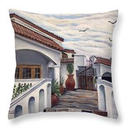 3 Pots Throw Pillow