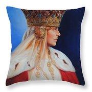 Queen Marie Of Romania Throw Pillow