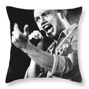 Queensryche - Geoff Tate Throw Pillow