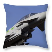 Raf Typhoon Throw Pillow