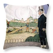 Rene Laennec (1781-1826) Throw Pillow
