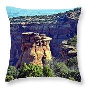 Rim Rock Colorado Throw Pillow