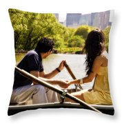 Romance In The Afternoon Throw Pillow