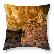 Ancient Spaces Utah Throw Pillow