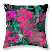 Rose 72 Throw Pillow