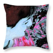 Rose Aroma Throw Pillow