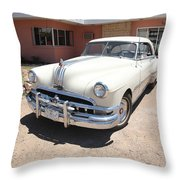 Route 66 - Classic Pontiac Throw Pillow