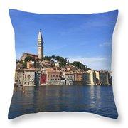 Rovinj Croatia  Throw Pillow