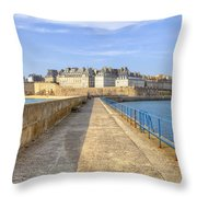 Saint-malo - Brittany Throw Pillow