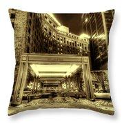 Saint Paul Hotel Throw Pillow