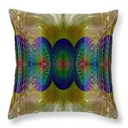 Salsify Abstract Throw Pillow