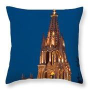 San Migel De Allende, Mexico Throw Pillow