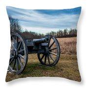 Saratoga Battlefield Throw Pillow