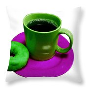 Saturday Morning Breakfast Throw Pillow