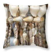 Sea Shell Decorations Throw Pillow