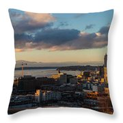 Seattle Dusk Throw Pillow