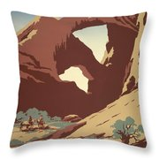See America Poster, C1937 Throw Pillow