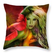 Shakira Throw Pillow