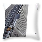 Skies The Limit Throw Pillow