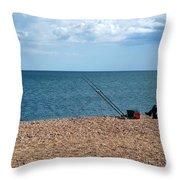 Slapton Sands Throw Pillow